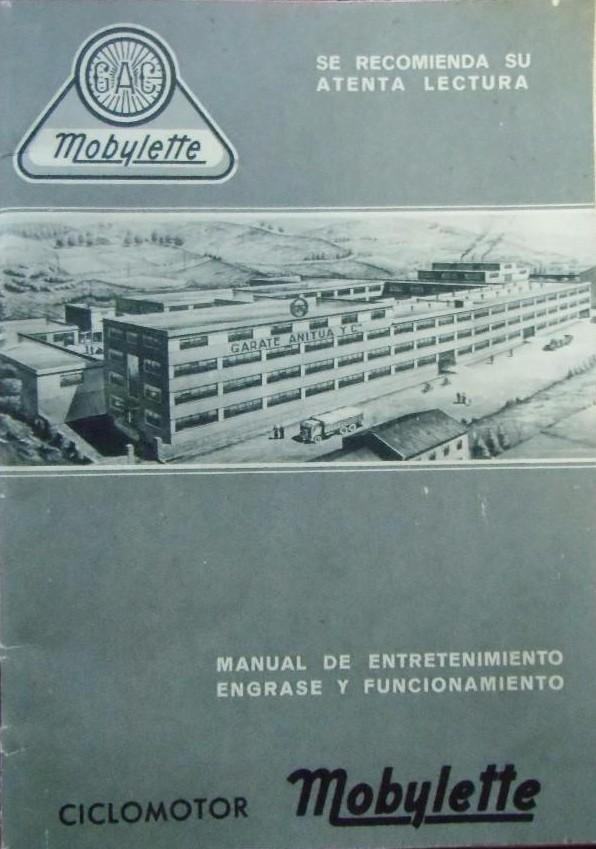 Ofrezco manual entretenimiento original AV-88 1ª serie 0110