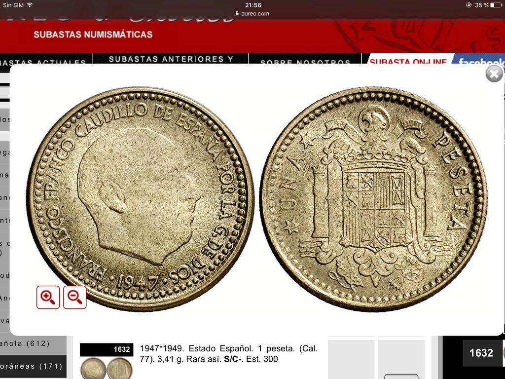 1 Peseta 1947 (*19-49) Estado Español Img_0610