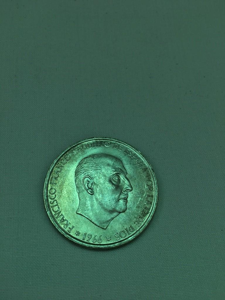 100 Pesetas 1966 (*19-69). Estado Español. Palo Recto Img_3611