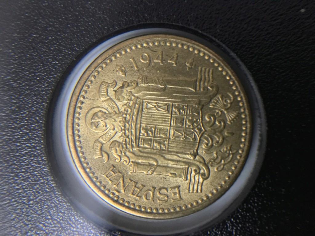 1 Peseta 1944. Estado Español Img_3614