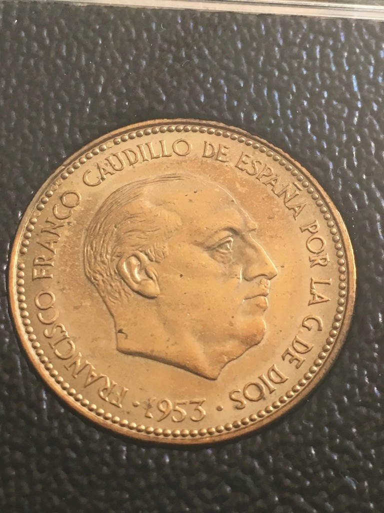 2,5 pesetas 1953 (*19-*70) Estado Español Img_3716
