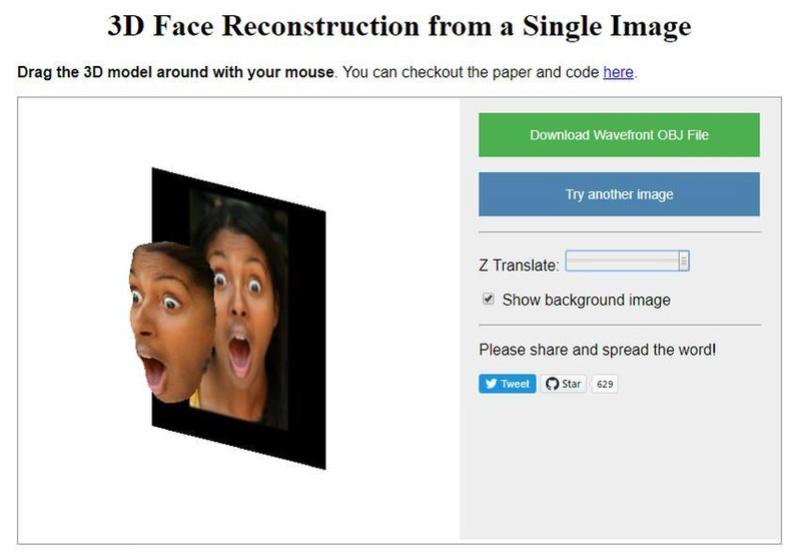 Δημιουργήστε ένα 3D μοντέλο του προσώπου σας από μια selfie 3dface10