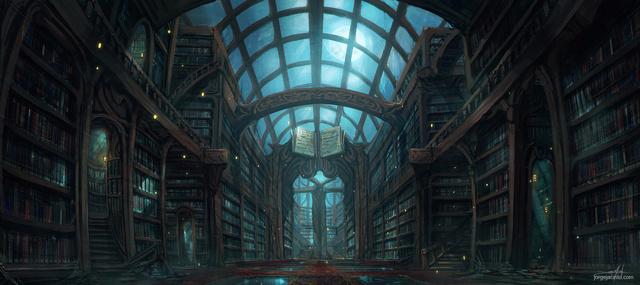 Autour d'une bibliothèque [Valsrik'Hrae Zezxyra] The_li12