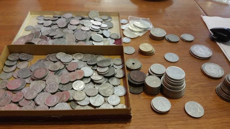 Cuando te dicen que te van a traer un montón de monedas heredadas ¡¡NUEVAS!! 20170710