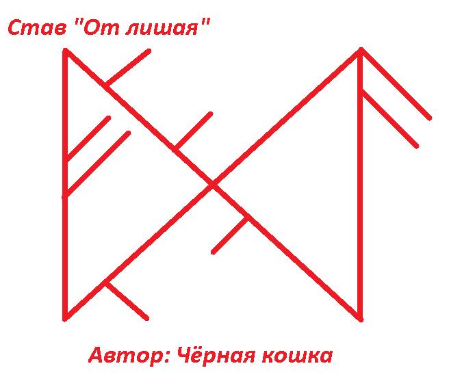 """Став """" От лишая"""" Автор Чёрная кошка Yi_i_a10"""