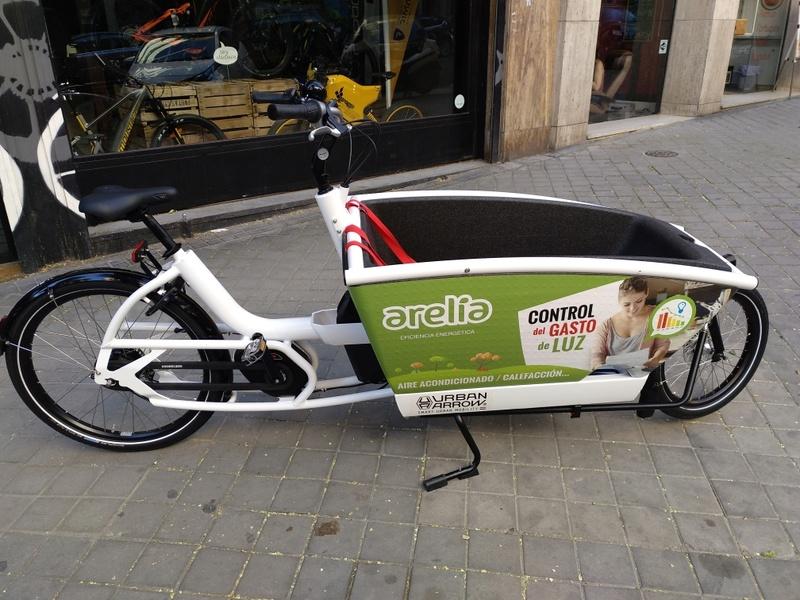 BiciE de carga URBAN ARROW FAMILY para empresa Img_2010
