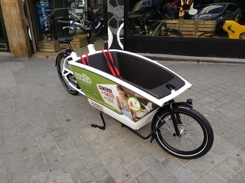 BiciE de carga URBAN ARROW FAMILY para empresa Img_2011