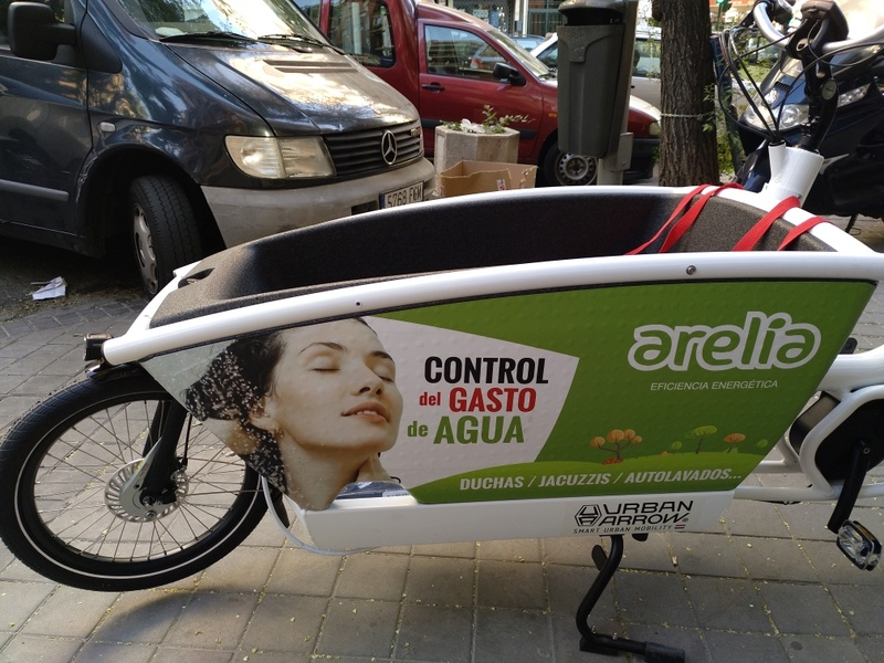 BiciE de carga URBAN ARROW FAMILY para empresa Img_2012