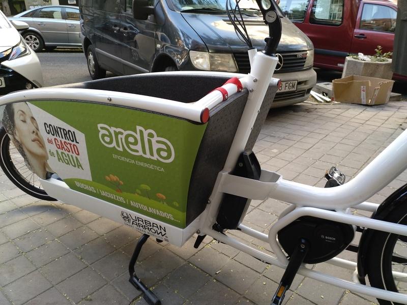 BiciE de carga URBAN ARROW FAMILY para empresa Img_2013