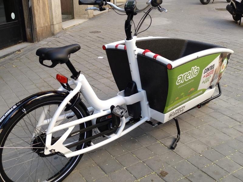 BiciE de carga URBAN ARROW FAMILY para empresa Img_2014