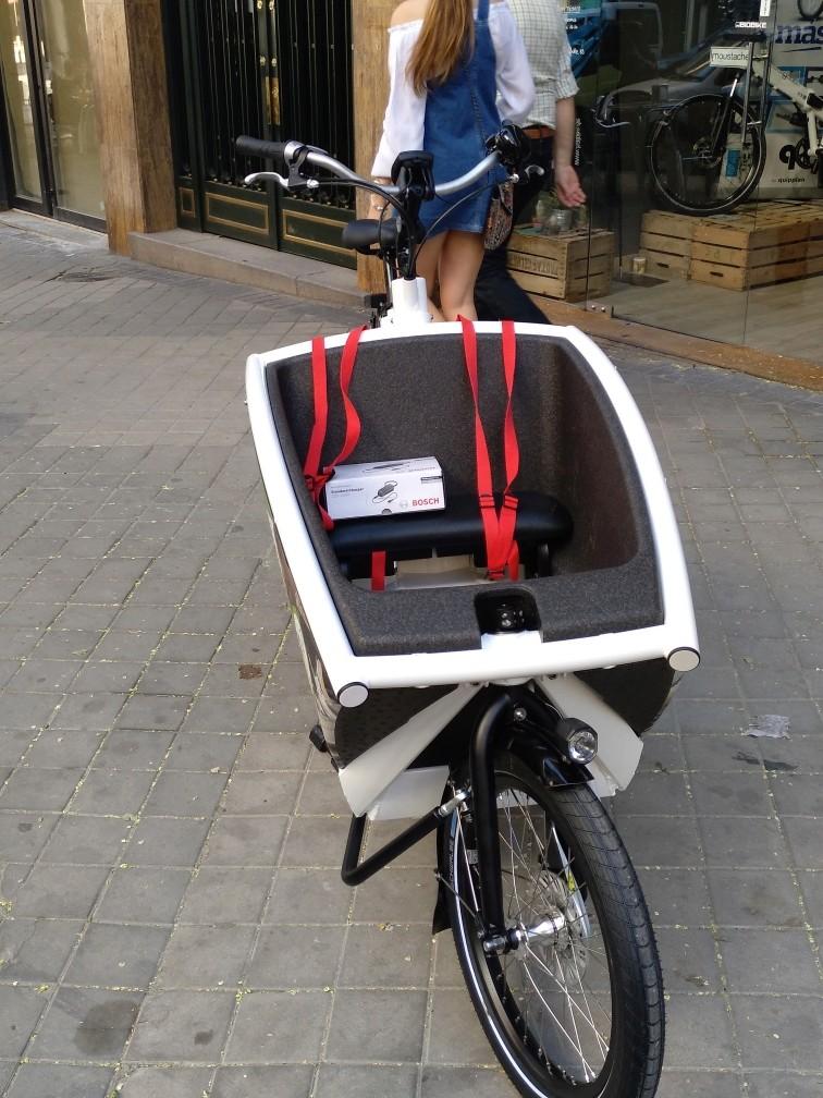 BiciE de carga URBAN ARROW FAMILY para empresa Img_2016