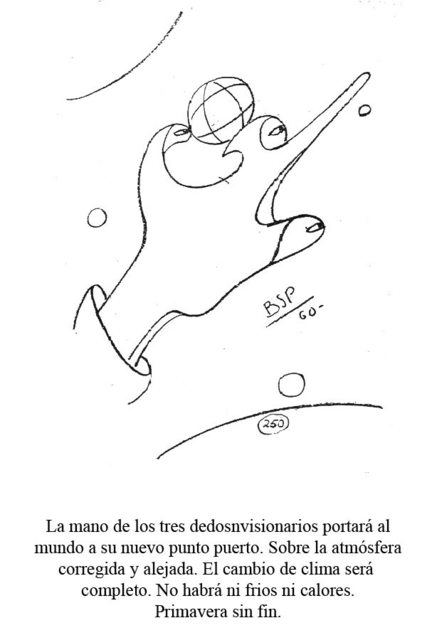 Mano de tres dedos - Relación momias nazca 33lp4x12