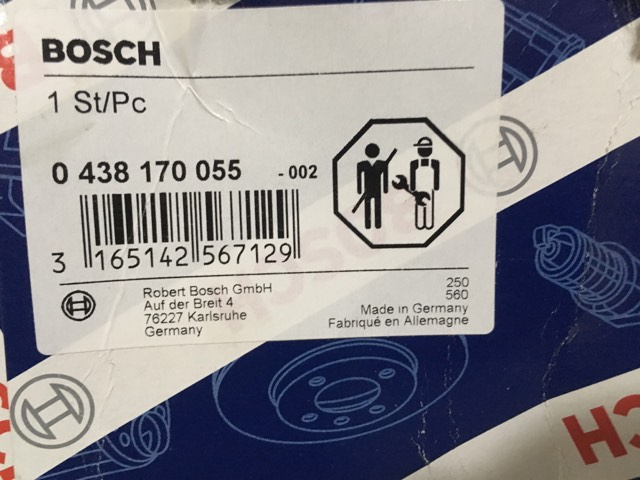 Acumulador de Pressao Bosch novo - R$ 600 (serve em diversos modelos) 20217410