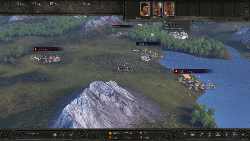 Diario semanal de desarrollo de Bannerlord 8: Ejércitos e influencia Army10