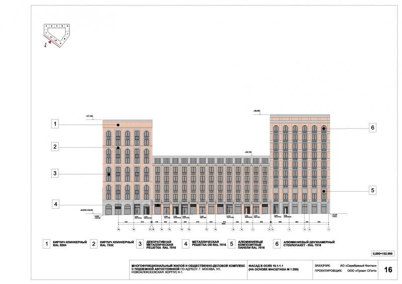 Согласовано архитектурное решение ЖК рядом с метро «Алексеевская» 410