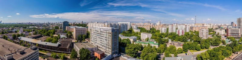 """Панорамные виды из окон будущего ЖК """"Серебряный фонтан"""" 9810"""