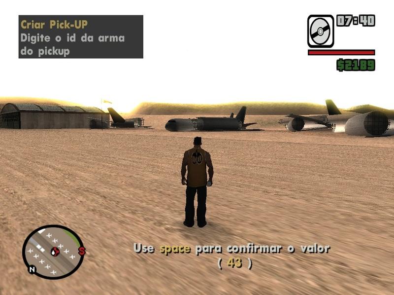 Criar pick-ups de armas editando um arquivo dat Screen60