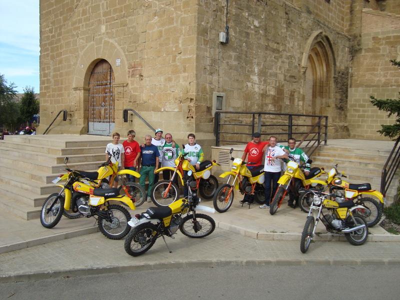 XIII Concentracion de motos antiguas Alberuela de tubo (Huesca) Dsc02211