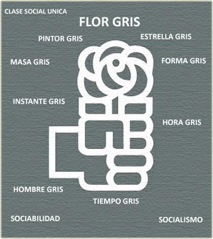 la flor gris Wlw10910
