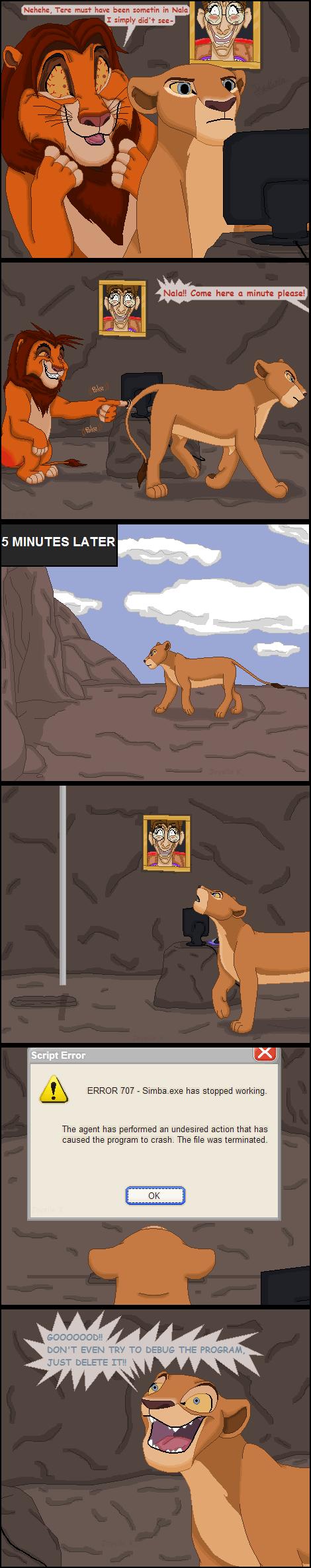 El arte de TLK-Peachii [Artista de DA] Simba_10