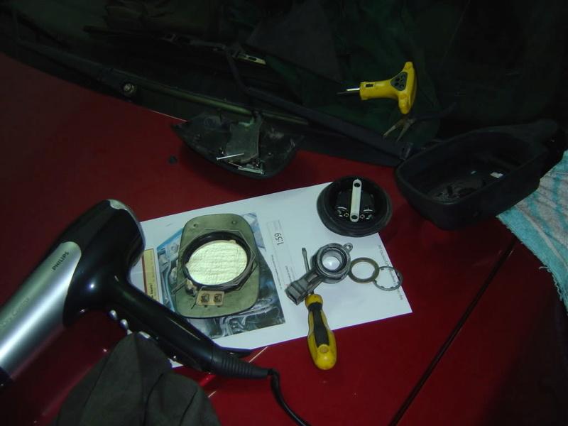 retrovisor - [ ESPEJOS ] Reparación del espejo retrovisor exterior 0910