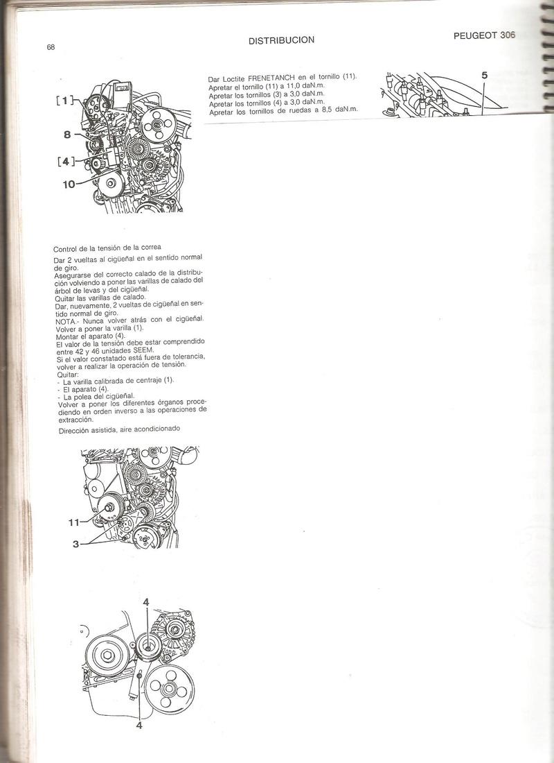 [ MOTOR ] Distribución en motores XU7JP XU10J2 XU10J4 Imagen10