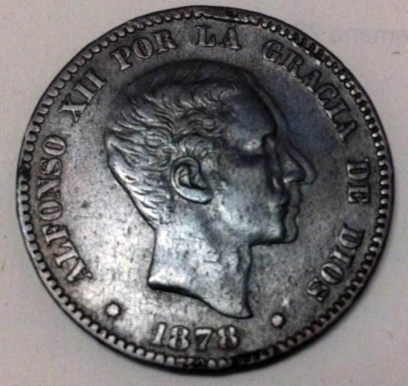 10 céntimos 1878 Alfonso XII OM. Opinión Anvers12
