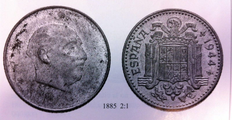 1 peseta 1946. Estado Español. ¿Prueba de circulación? - Página 4 Pieza_10