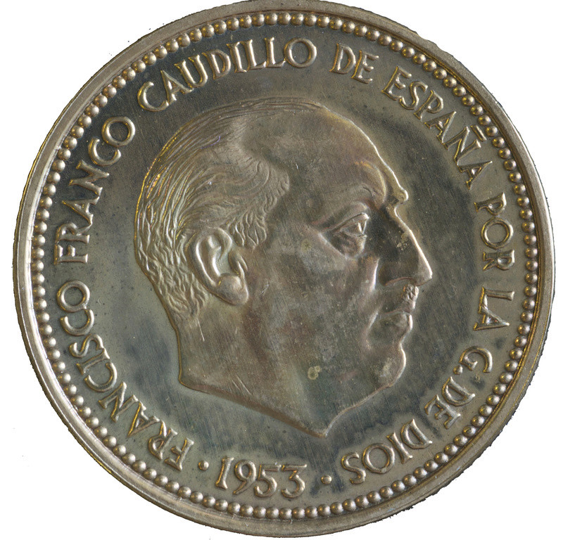 2,50 pesetas *19-56, Estado Español- acuñación PROOF - Página 2 Revers12