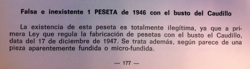 1 peseta 1946. Estado Español Vicent10
