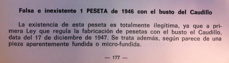 1 peseta 1946. Estado Español. ¿Prueba de circulación? - Página 6 Vicent11