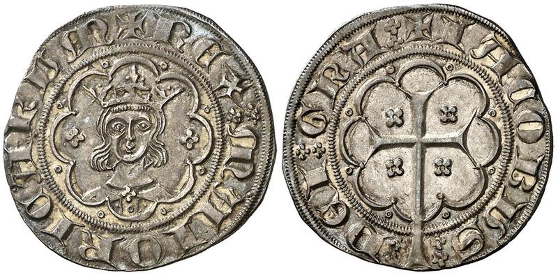 "Subastado en Classical Numismatic un ""mig ral"" de Jaume III (sic), rey de Mallorca Aureo_10"