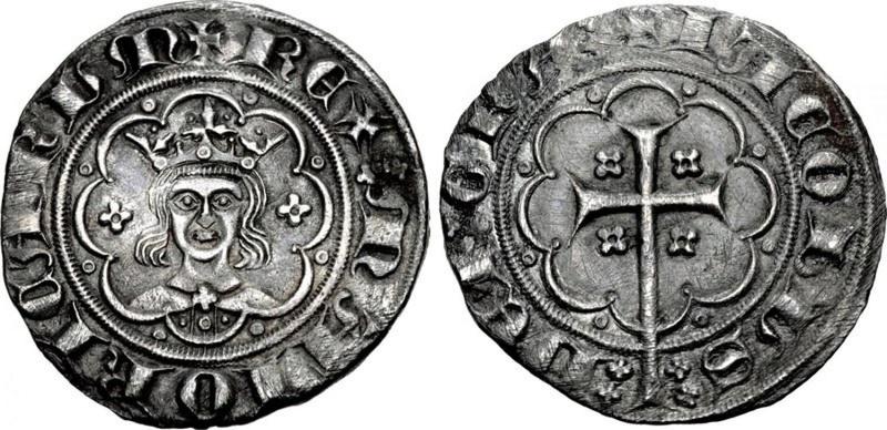 """Subastado en Classical Numismatic un """"mig ral"""" de Jaume III (sic), rey de Mallorca Classi10"""