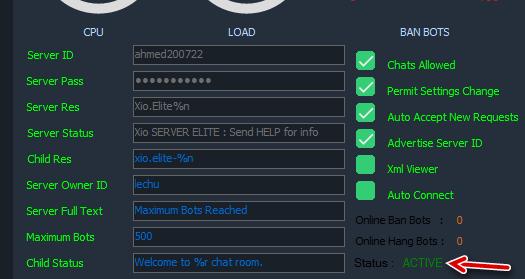 How to Activate Server Bot Nimbuzz! Ashamp23