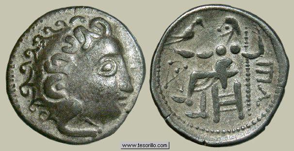 Dracma de imitación céltica de Alejandro Magno Img_4017