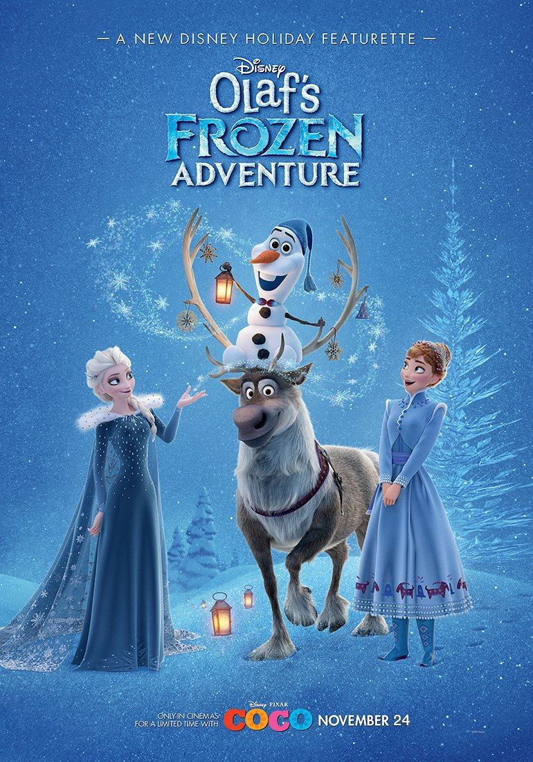 [Moyen-Métrage Walt Disney] Joyeuses Fêtes avec Olaf (2017) - Page 3 21125410