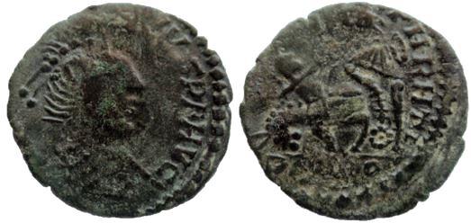 AE4 de Constancio II de imitación bárbara. FEL TEMP REPARATIO Byyrba11