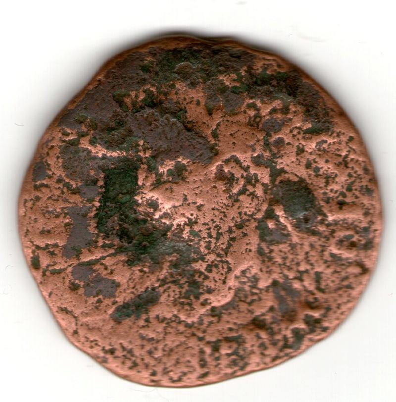 As Colonia Rómula, época de Tiberio. GERMANICVS CAESAR DRVSVS CAESAR. Bustos enfrentados de Germánico y Druso. Smg_7914
