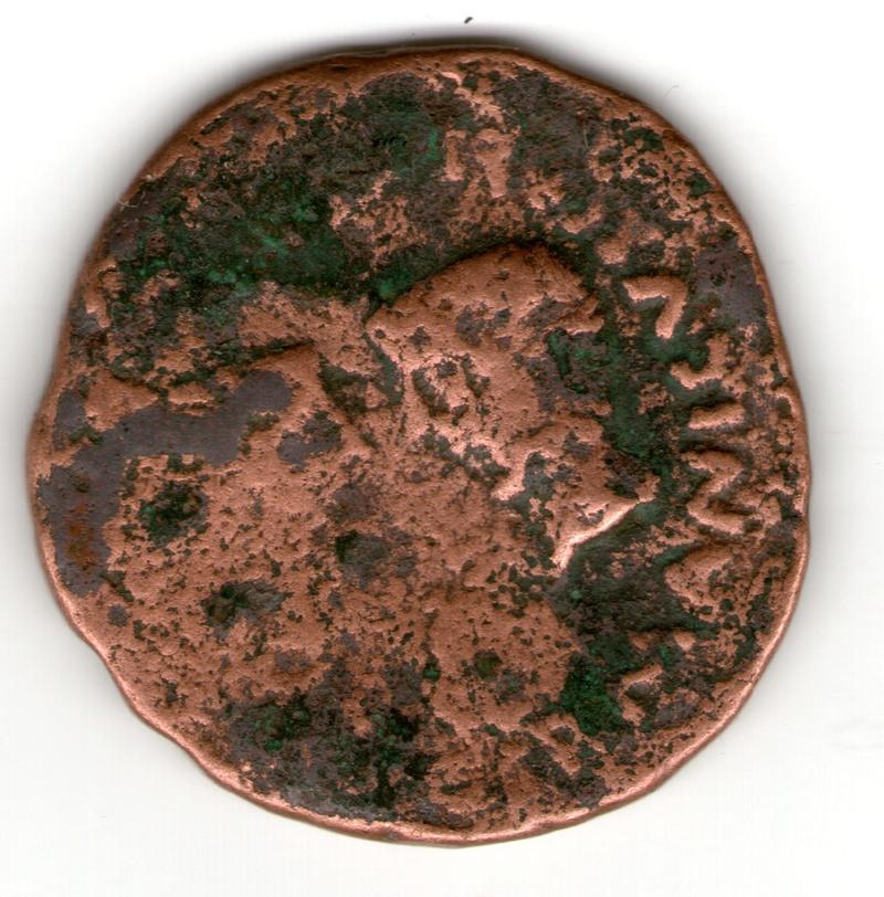 As Colonia Rómula, época de Tiberio. GERMANICVS CAESAR DRVSVS CAESAR. Bustos enfrentados de Germánico y Druso. Smg_7915