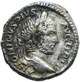 Denario de Caracalla. PONTIF TR P XIII COS III. Virtus Smg_8010