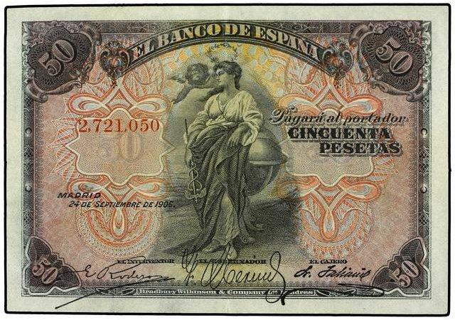 Simbología en Billetes 27210510