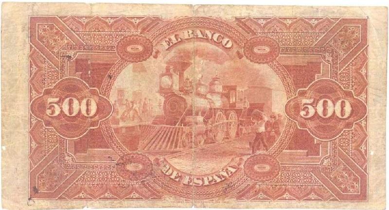 El Banco Ruso-Asiático de Harbin , ( China ) 500-pe10