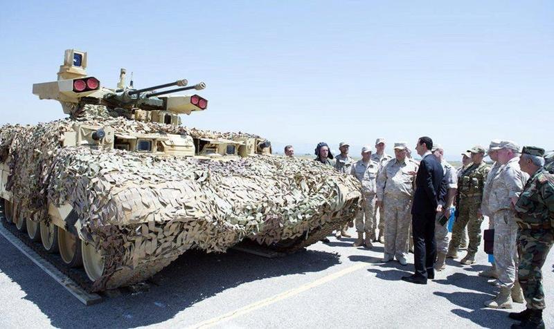 ظهور ال terminator في قاعدة حميميم في سوريا 19424510