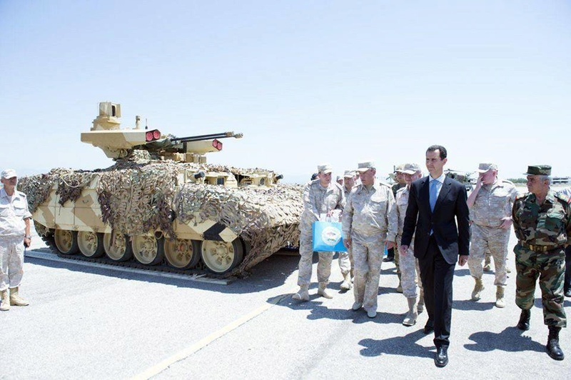 ظهور ال terminator في قاعدة حميميم في سوريا 19553810