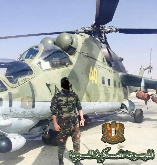 سوريا تحصل على مروحيات Mi-24P  20663910
