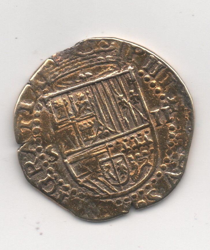 Moneda de Felipe II Felipe14