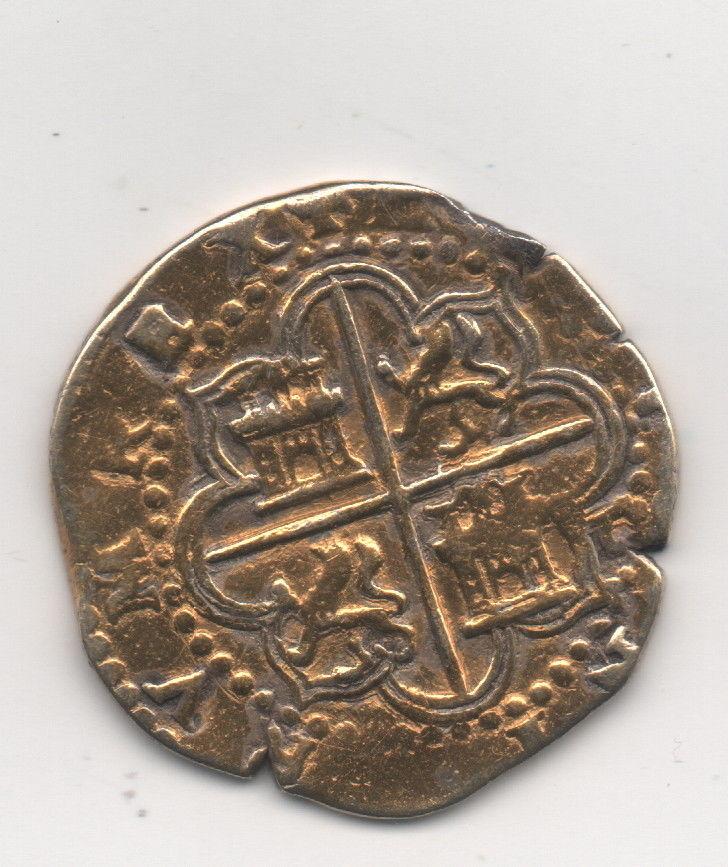 Moneda de Felipe II Felipe15