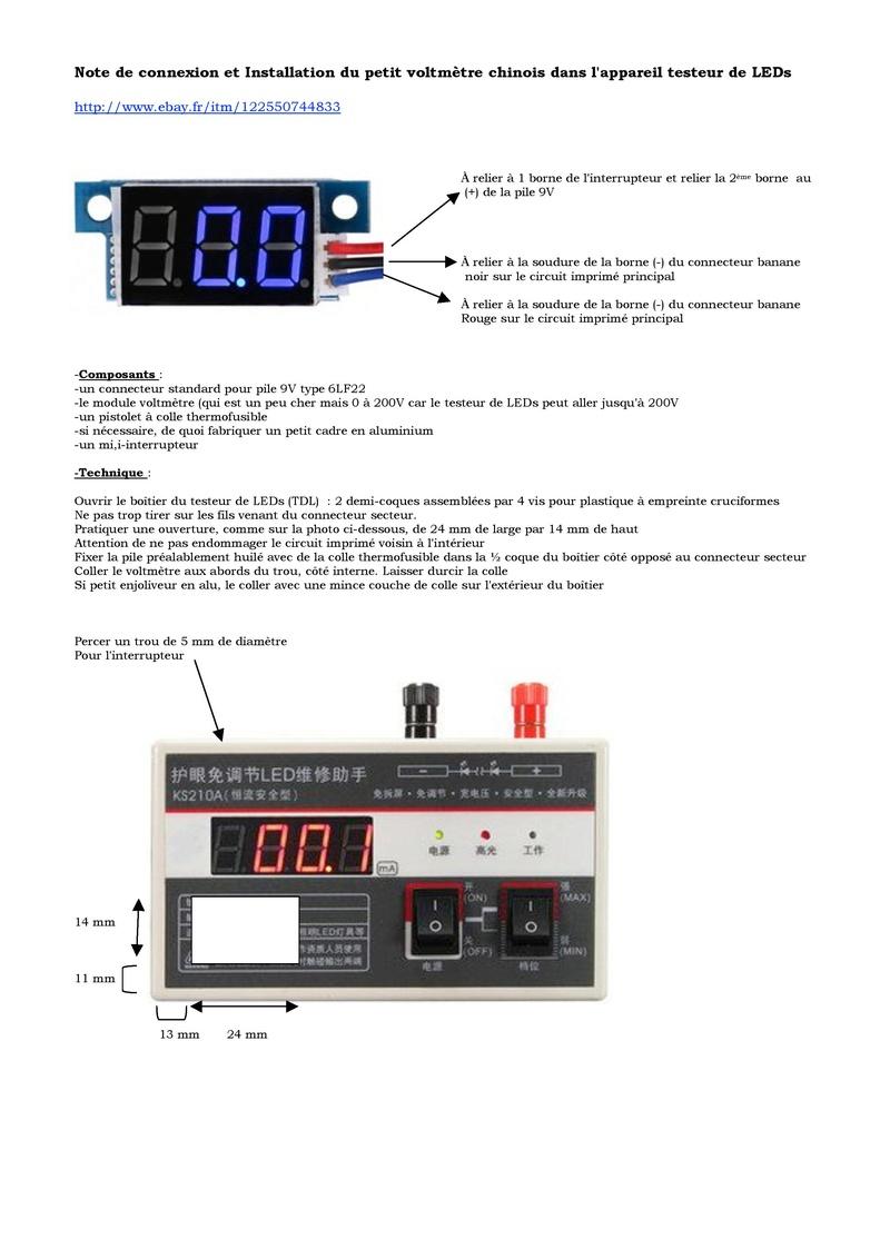 Électronique Modift10