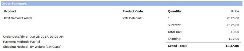 ALARME KTM - Page 2 Screen13