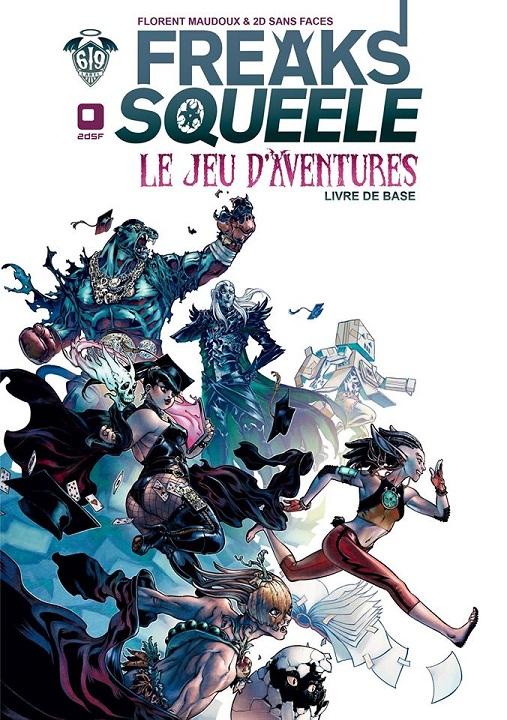 Freaks' Squeele - Le  jeu d'aventure Couver10